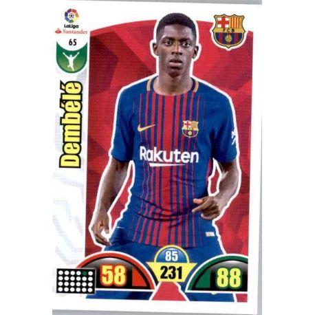 Dembélé Barcelona 65 Cards Básicas 2017-18