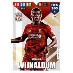 Georginio Wijnaldum Liverpool 40