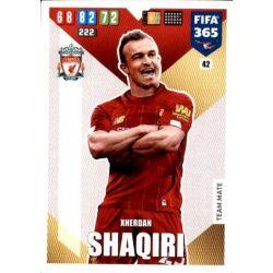Xherdan Shaqiri Liverpool 42