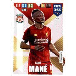 Sadio Mané Liverpool 43