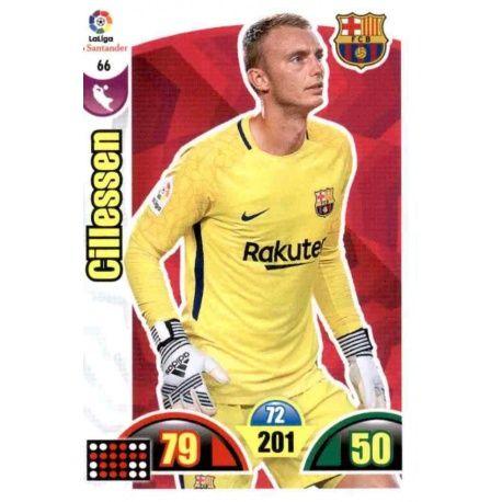 Cillessen Barcelona 66 Cards Básicas 2017-18