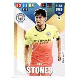 John Stones Manchester City 54