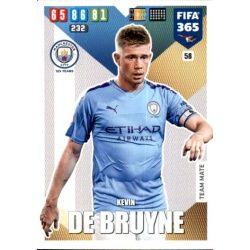 Kevin De Bruyne Manchester City 58