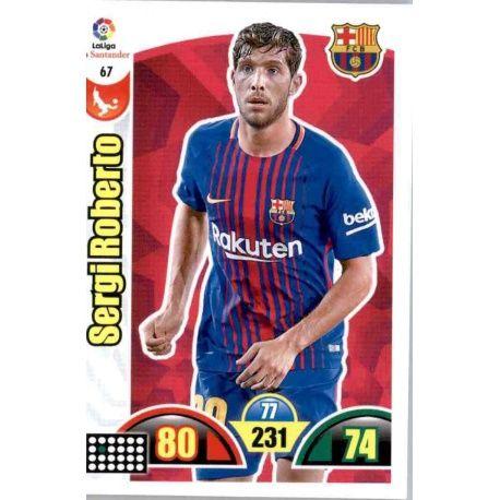 Sergi Roberto Barcelona 67 Cards Básicas 2017-18