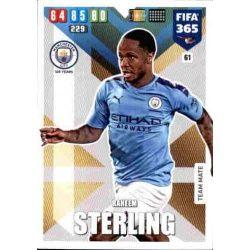 Raheem Sterling Manchester City 61