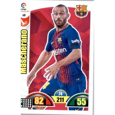 Mascherano Barcelona 68 Cards Básicas 2017-18