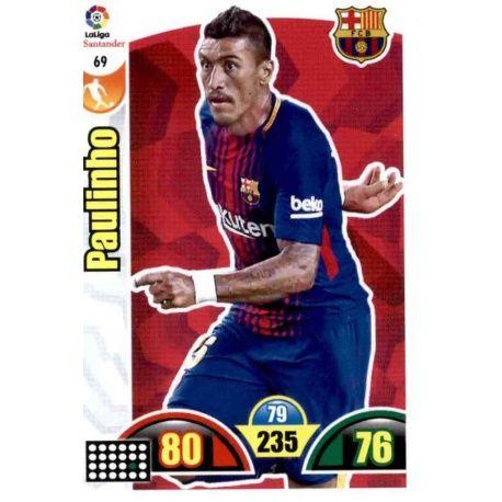 Paulinho Barcelona 69 Cards Básicas 2017-18