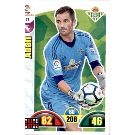 Adán Betis 73 Cards Básicas 2017-18
