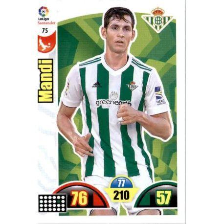 Mandi Betis 75 Cards Básicas 2017-18