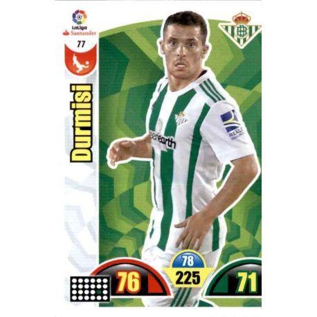 Durmisi Betis 77 Cards Básicas 2017-18
