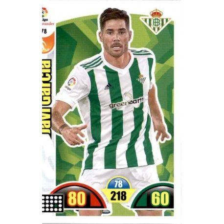 Javi García Betis 78 Cards Básicas 2017-18