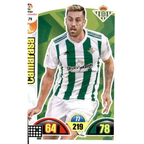 Camarasa Betis 79 Cards Básicas 2017-18
