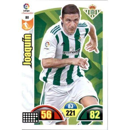 Joaquín Betis 80 Cards Básicas 2017-18