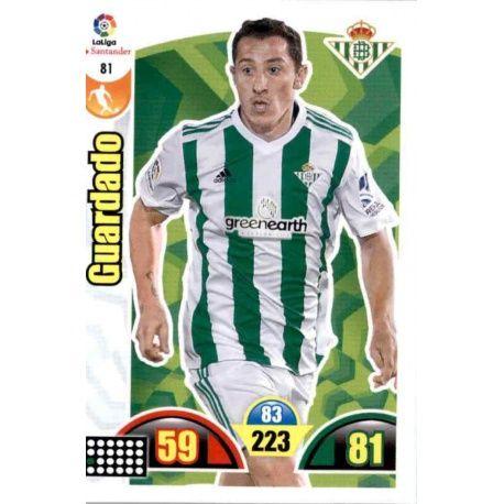 Guardado Betis 81 Cards Básicas 2017-18