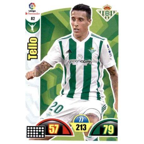Tello Betis 82 Cards Básicas 2017-18
