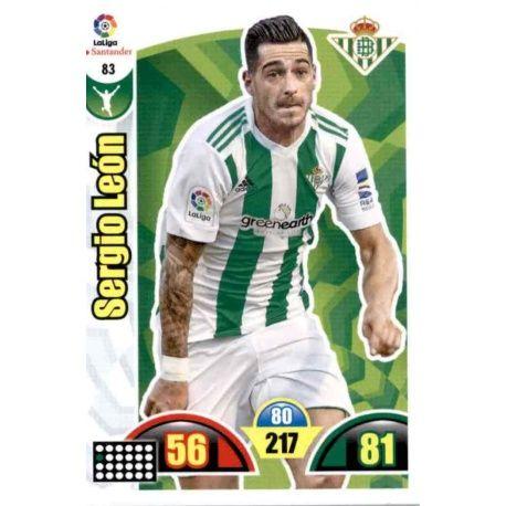 Sergio León Betis 83 Cards Básicas 2017-18