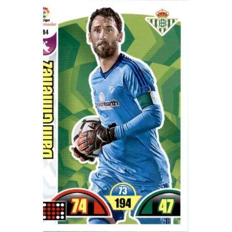 Dani Giménez Betis 84 Cards Básicas 2017-18