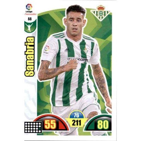 Sanabria Betis 88 Cards Básicas 2017-18
