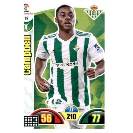 Campbell Betis 89 Cards Básicas 2017-18
