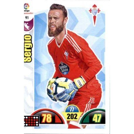 Sergio Celta 91 Cards Básicas 2017-18