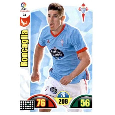 Roncaglia Celta 93 Cards Básicas 2017-18