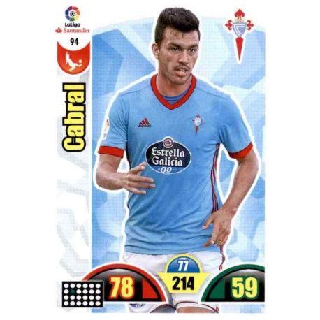 Cavral Celta 94 Cards Básicas 2017-18