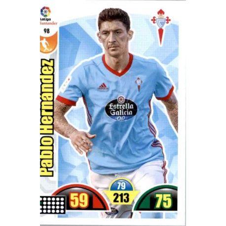 Pablo Hernández Celta 98 Cards Básicas 2017-18