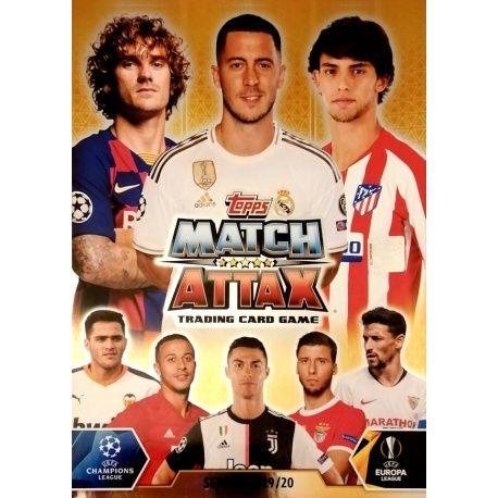 Colección Topps Match Attax Champions Europa League 2019-20 Colecciones Completas
