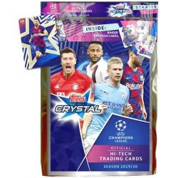 Colección Topps Crystal Uefa Champions League Hi-Tech Trading Cards 2019-20 Colecciones Completas