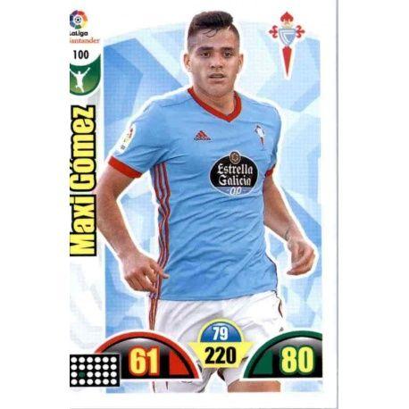 Maxi Gómez Celta 100 Cards Básicas 2017-18