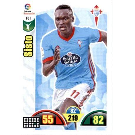 Sisto Celta 101 Cards Básicas 2017-18