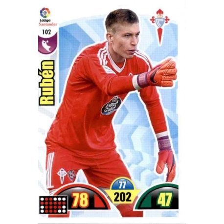 Rubén Celta 102 Cards Básicas 2017-18