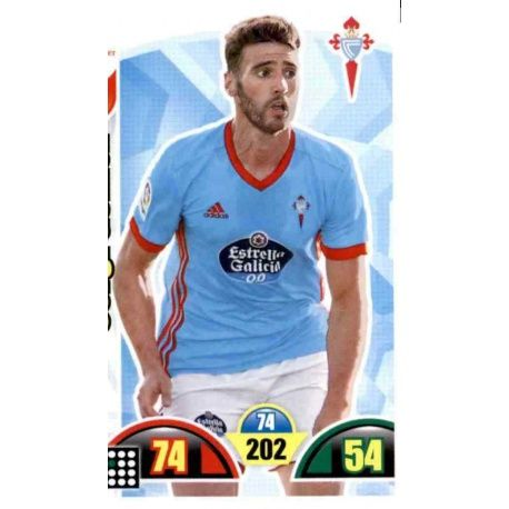 Sergi Gómez Celta 103 Cards Básicas 2017-18