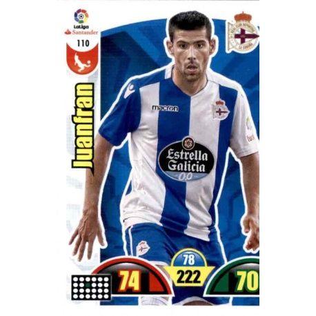 Juanfran Deportivo 110 Cards Básicas 2017-18