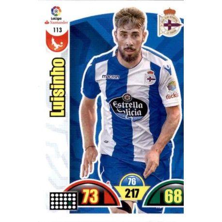 Luisinho Deportivo 113 Cards Básicas 2017-18