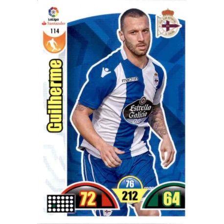 Guilherme Deportivo 114 Cards Básicas 2017-18