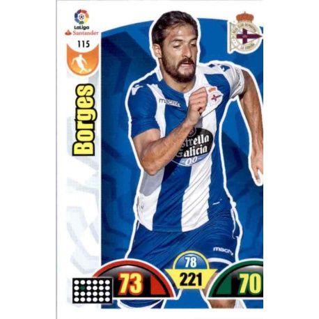 Borges Deportivo 115 Cards Básicas 2017-18