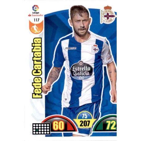 Fede Cartabia Deportivo 117 Cards Básicas 2017-18
