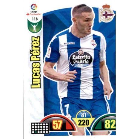 Lucas Pérez Deportivo 118 Cards Básicas 2017-18