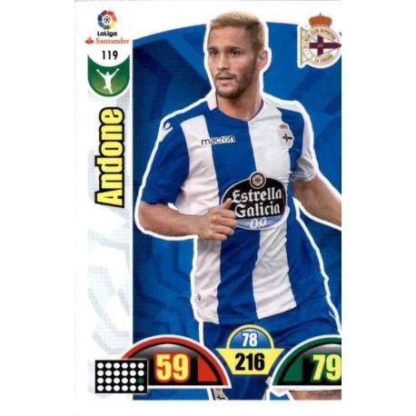 Andone Deportivo 119 Cards Básicas 2017-18