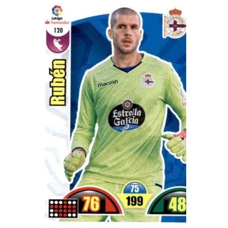 Rubén Deportivo 120 Cards Básicas 2017-18