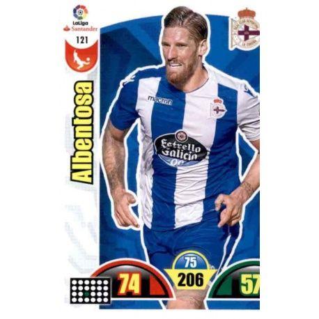 Albentosa Deportivo 121 Cards Básicas 2017-18