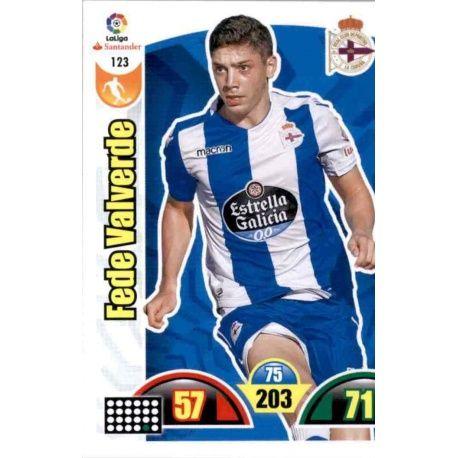 Fede Valverde Deportivo 123 Cards Básicas 2017-18