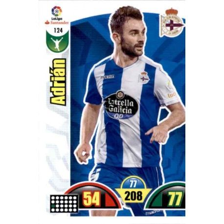 Adrián Deportivo 124 Cards Básicas 2017-18