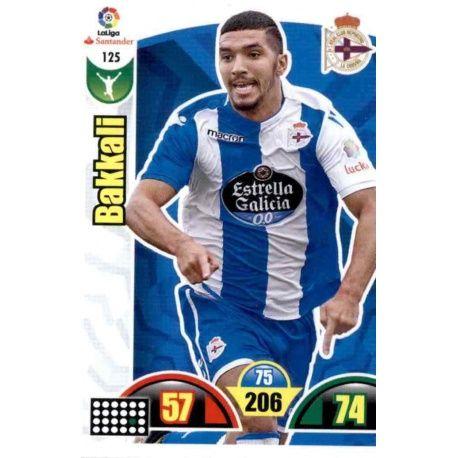 Bakkali Deportivo 125 Cards Básicas 2017-18