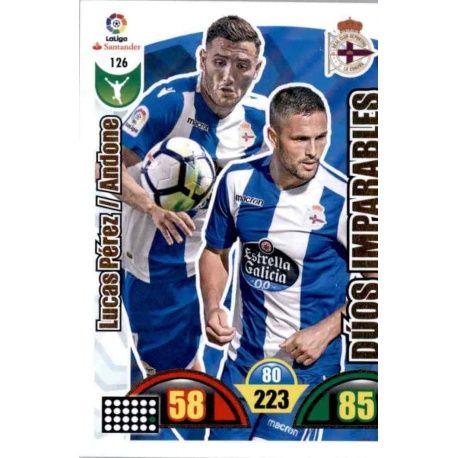 Lucas Pérez / Andone Deportivo 126 Cards Básicas 2017-18