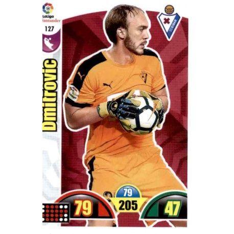 Dmitrovic Eibar 127 Cards Básicas 2017-18