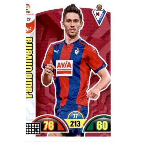 Paulo Oliveira Eibar 129 Cards Básicas 2017-18