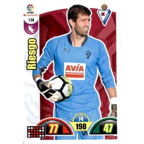 Riesgo Eibar 138 Cards Básicas 2017-18