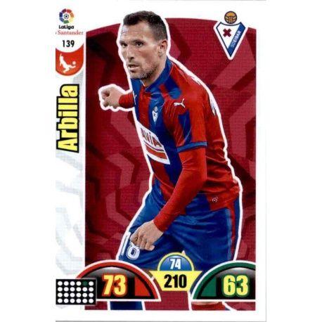 Arbilla Eibar 139 Cards Básicas 2017-18